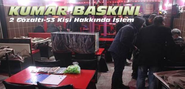 Konya'da İş Yerlerine Kumar Baskını