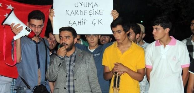 Konya Saadet'ten İsrail'e Protesto