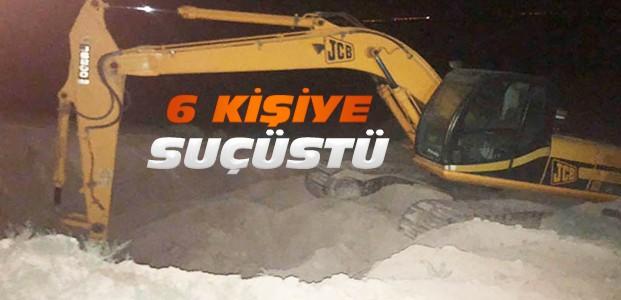 Konya'da Kaçak Kazı Operasyonu: