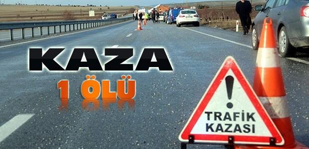 Konya'da Kaza:Otomobil Yayaya Çarptı:1 Ölü