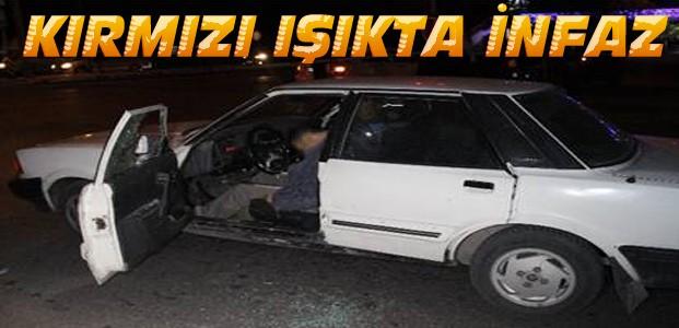 Konya'da-Kırmızı ışıkta pompalı tüfekle öldürüldü