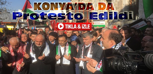 Konya'da Kudüs Protestoları-VİDEO