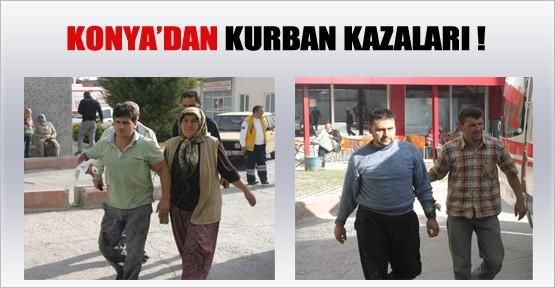 Konya'da Kurban Kazaları
