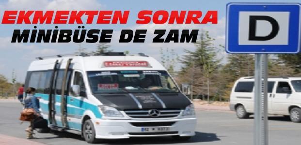 Konya'da Minibüs Ücretlerine Zam
