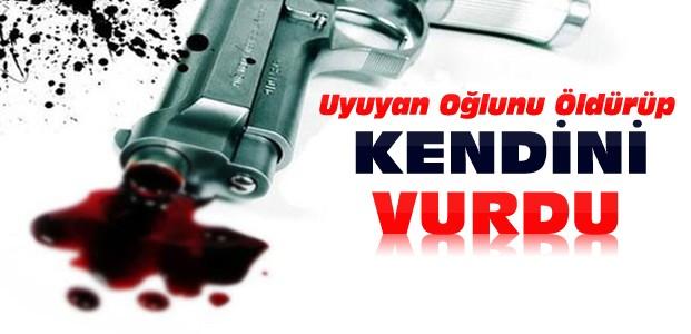 Konya'da Oğlunu Öldüren Kişi İntihar Etti