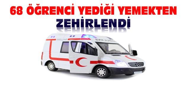Konya'da Öğrenciler Zehirlendi