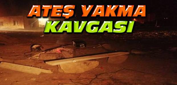 Konya'da Parkta Silahlı Kavga