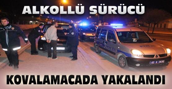 Konya'da Polisten Kaçan 4 Şüpheli Kovalamacada Yakalandı
