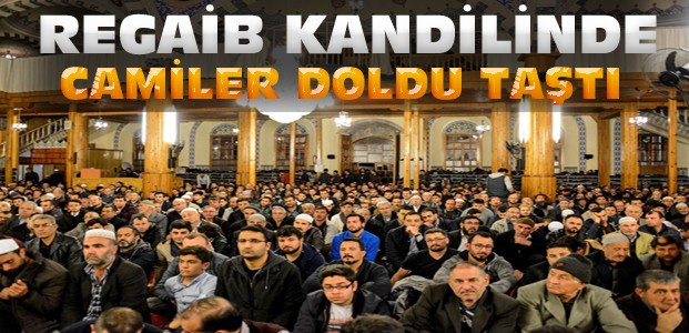 Konya'da Regaib Kandili Coşkusu Yaşandı