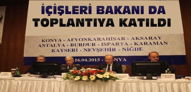 Konya'da Seçim Güvenliği Toplantısı