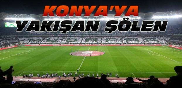 Konya'da Seyirciden Muhteşem Görsel Şölen
