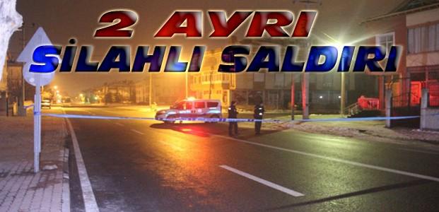 Konya'da Silahlı Saldırılar