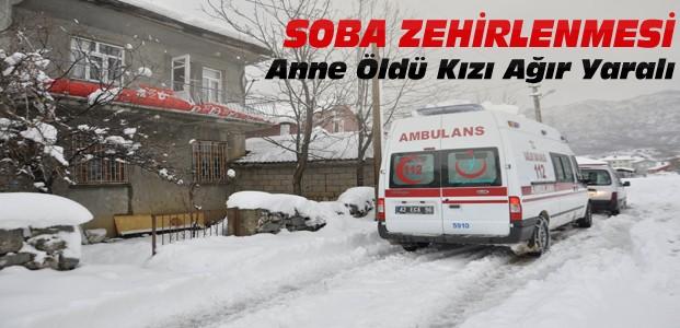 Konya'da Soba Zehirlenmesi-1 Ölü
