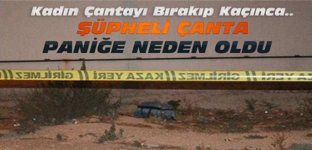 Konya'da Şüpheli Çanta Paniği