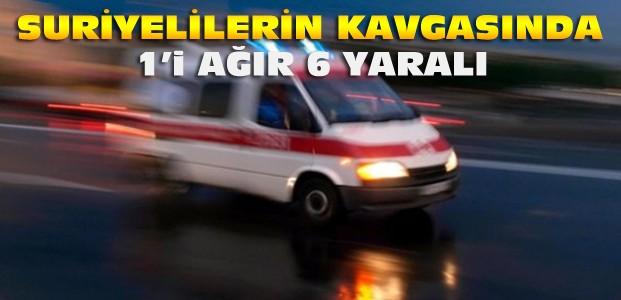 Konya'da Suriyeliler kavga etti:6 yaralı