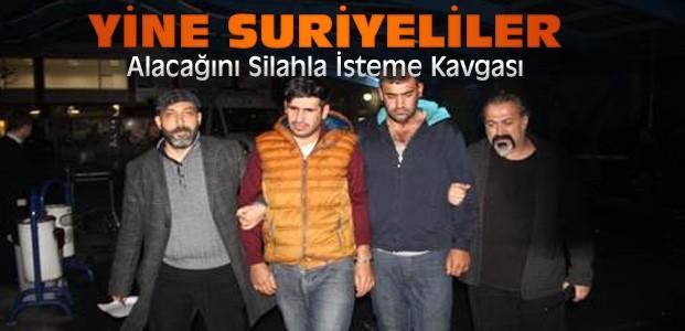 Konya'da Suriyelilerin Silahlı Kavgası