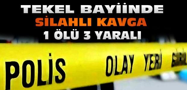 Konya'da Tekel Bayiinde Silahlı Kavga:1 Ölü 3 Yaralı