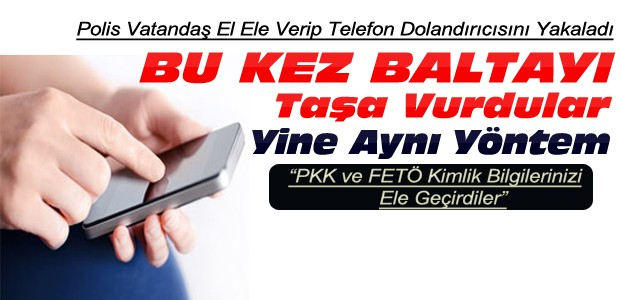 Konya'da Telefon Dolandırıcıları Suçüstü Yakalandı