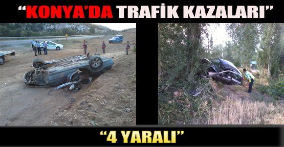 Konya'da Trafik Kazaları