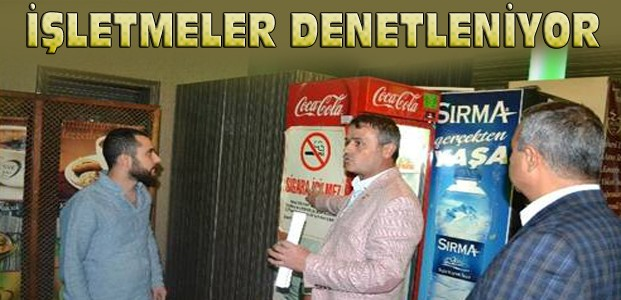 Konya'da Tütün Denetimleri