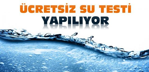 Konya'da Ücretsiz İçme Suyu Testleri