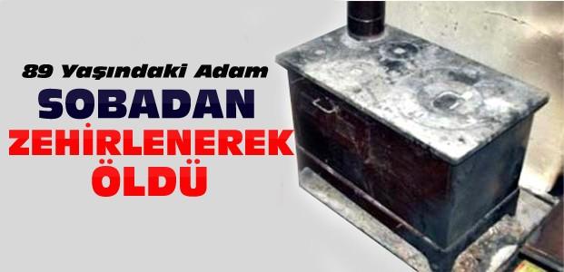 Konya'da Yaşlı Adam Sobadan Zehirlenerek Öldü