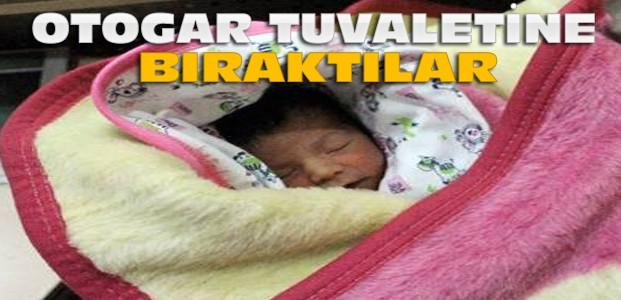 Konya'da Yeni Doğmuş Bebeği Tuvalete Bıraktılar