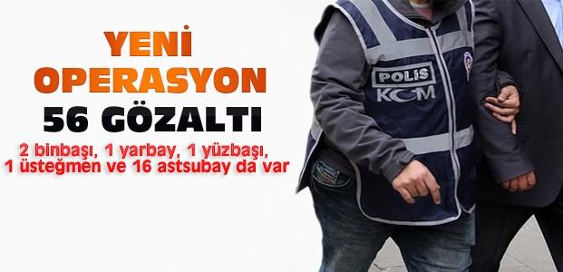 Konya'da Yeni FETÖ Operasyonu:56 Gözaltı