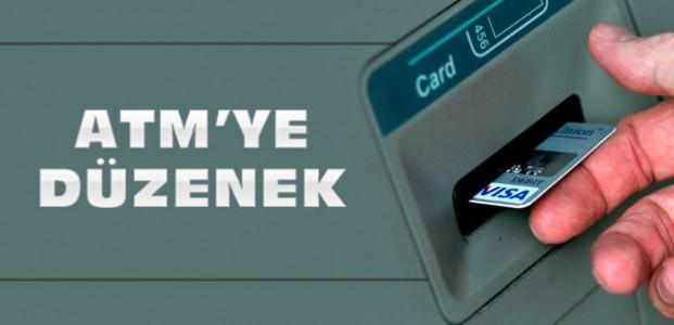 Konya'daki ATM'ye Düzenek Kurdular