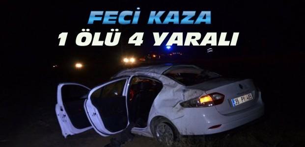 Konya'daki Kazada 1 Kişi Öldü