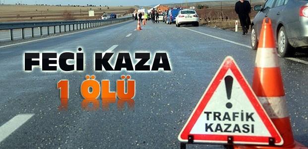 Konya'daki Kazada 1 Ölü 5 Yaralı