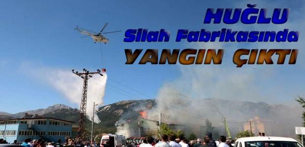 Konya'daki Silah Fabrikasında Yangın