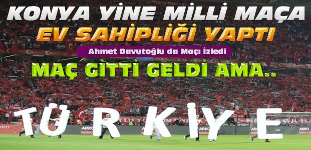 Konya'daki Türkiye Ukrayna Maç Sonucu