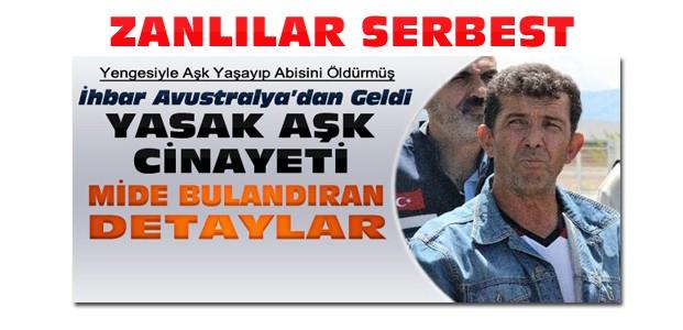 Konya'daki yasak aşk cinayeti-Zanlılar Serbest