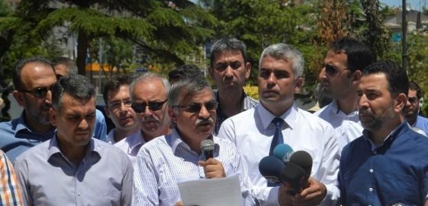 Konya STK'lardan İsrail'e Protesto