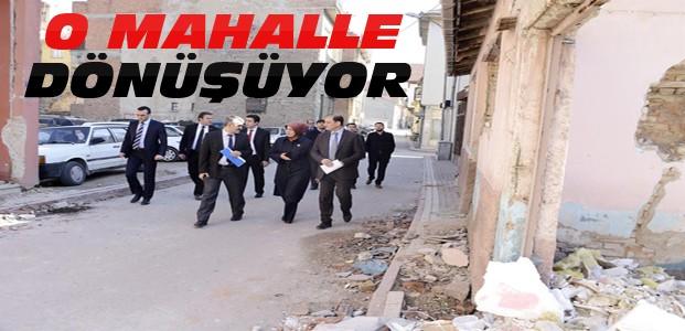 Konya'nın O Mahallesinde Dönüşüm Çalışmaları