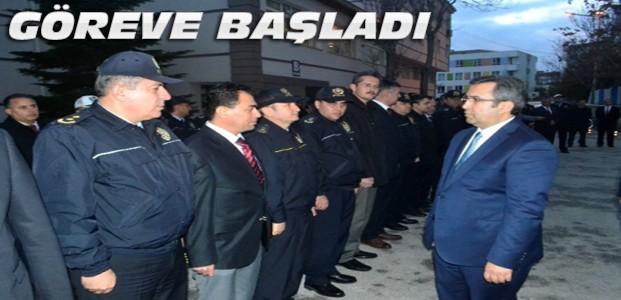 Konya'nın Yeni Emniyet Müdürü Göreve Başladı