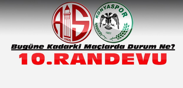 Konyaspor Antalyaspor ile 10. maçına çıkıyor