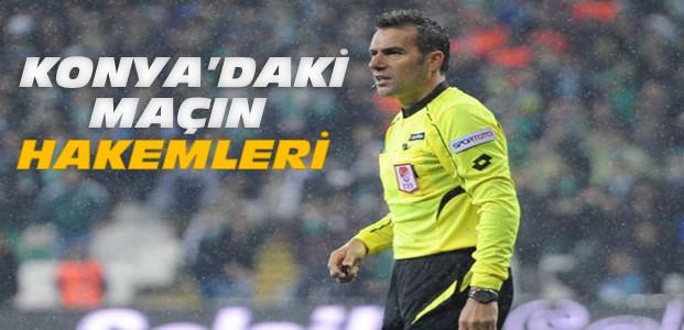 Konyaspor-Başakşehir maçının hakemleri