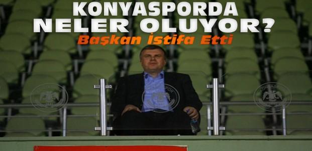 Konyaspor Başkanı Ahmet Şan İstifa Etti