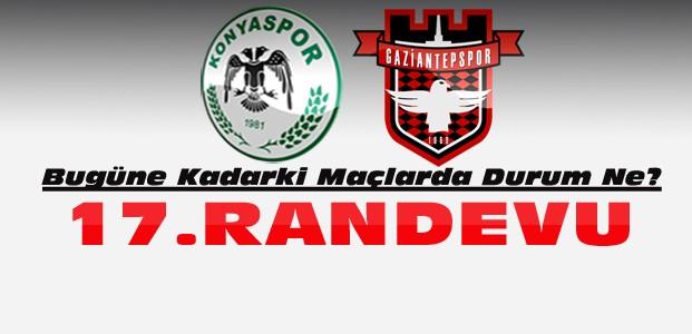 Konyaspor Gaziantepspor ile 17. Maçına Çıkıyor