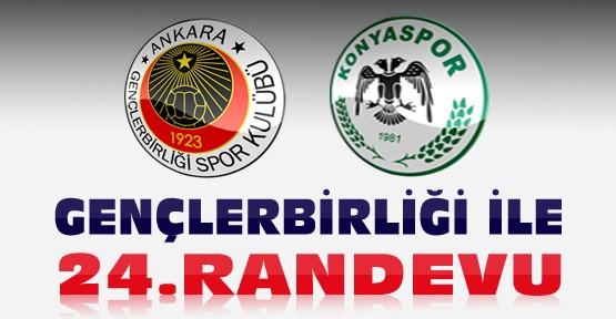 Konyaspor Gençlerbirliği ile 24.Randevusuna Çıkıyor