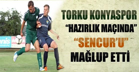 Konyaspor-Sencur Hazırlık Maçı Sonucu
