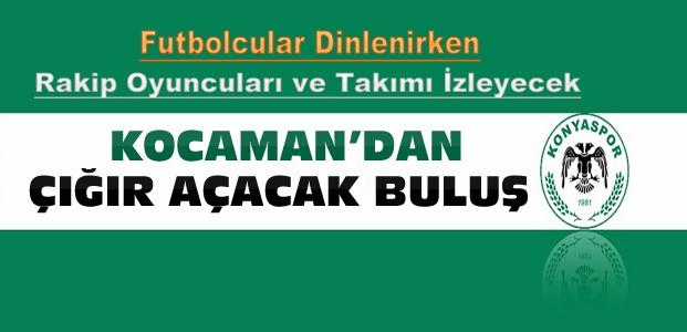 Konyaspor Teknik Direktöründen Çığır Açacak Uygulama