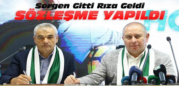 Konyaspor Yeni Teknik Adamla Sözleşme İmzaladı