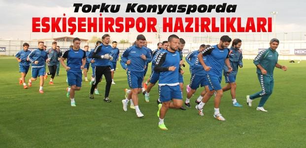 Konyasporda Eskişehirspor Hazırlıkları sürüyor