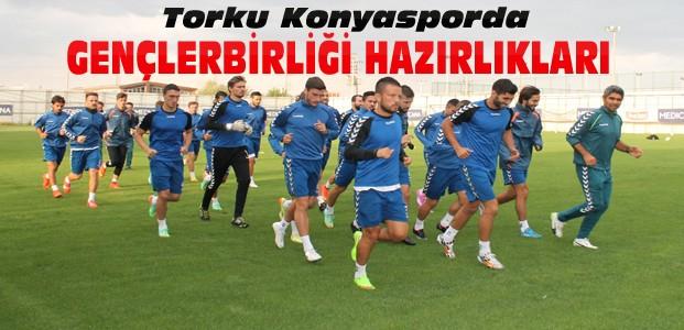 Konyasporda Gençlerbirliği hazırlıkları başladı