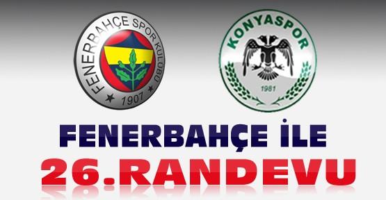 Konyaspor'un Fenerbahçe İle 26. Randevusu