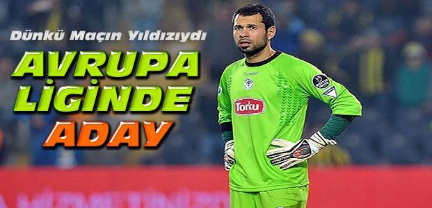 Konyasporun kalecisi Avrupa Ligi'nde en iyiye aday