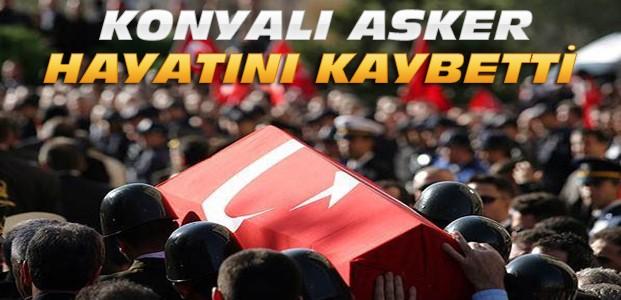 Konya'ya Yeniden Şehit Ateşi Düştü
